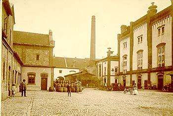 Pivovarský dvůr roku 1900