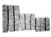 Palisády, ručně opracované